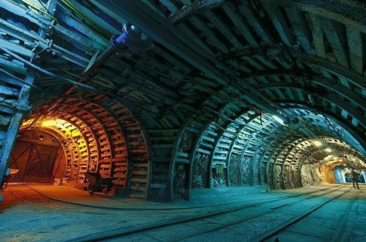 A secret underground base