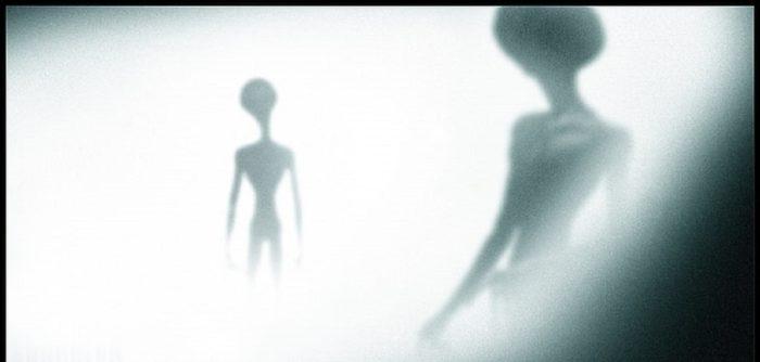 A depiction of alien entities