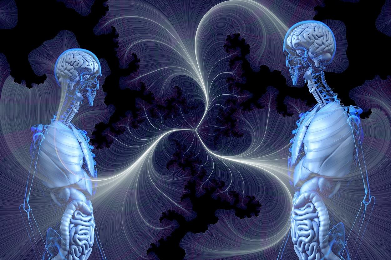 A depiction of human souls