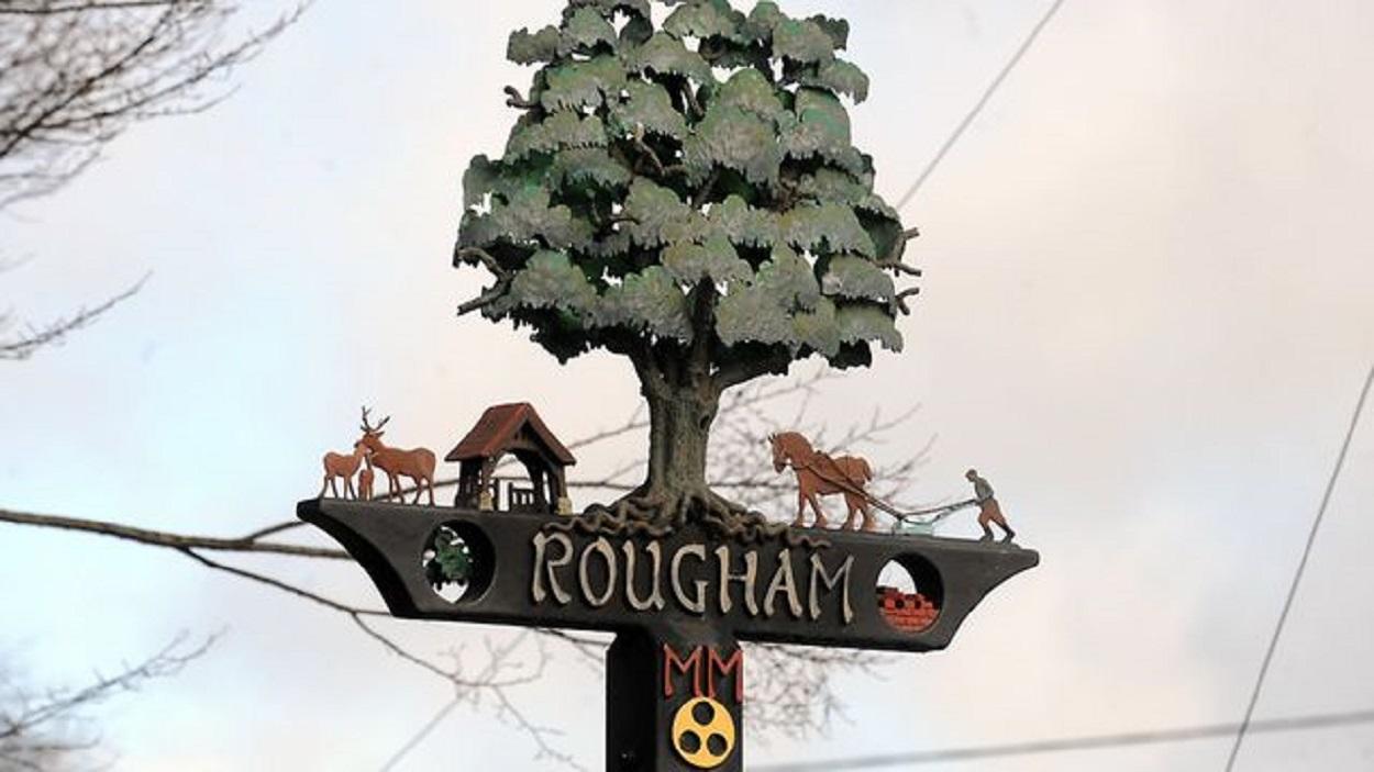 Rougham village sign
